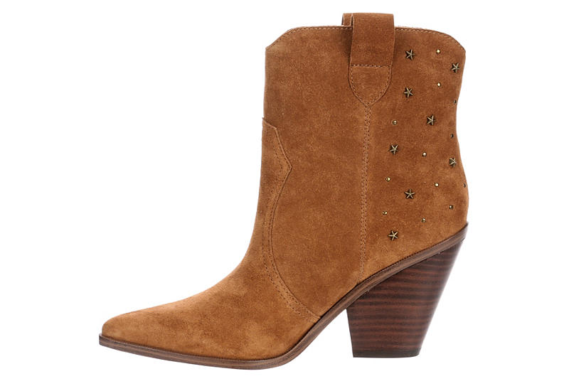 LIMELIGHT Womens Dallas Western Boot - COGNAC