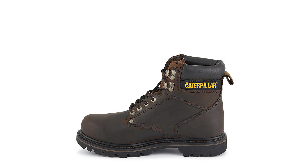 CATERPILLAR Mens Second Shift Work Boot - BROWN