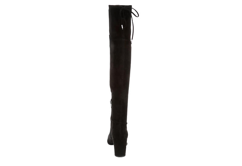 MARC FISHER Womens Locket Over The Knee Boot - BLACK