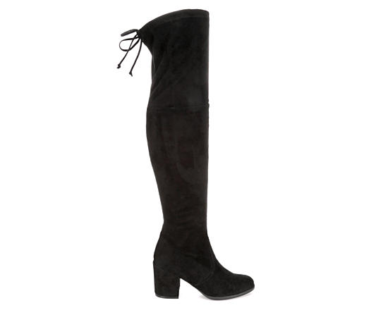 Womens Dedrii Over The Knee Dress Boot