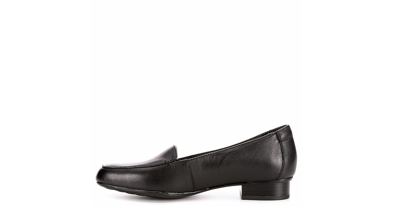 CLARKS Womens Juliet Lora - BLACK