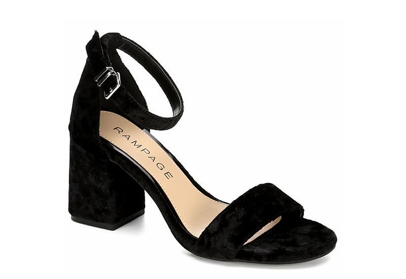 Rampage Norma Women's Block ... Heel Dress Sandals