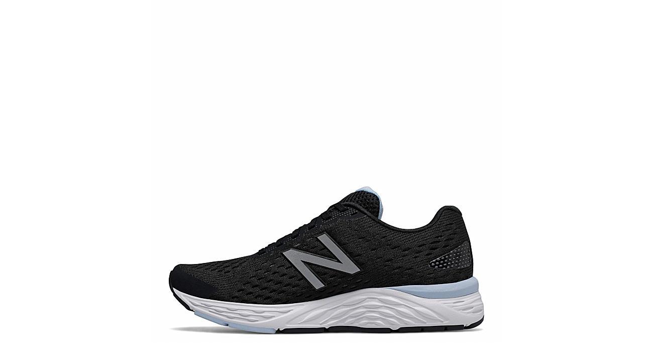 New Balance Womens 680 V6 Running Shoe Black