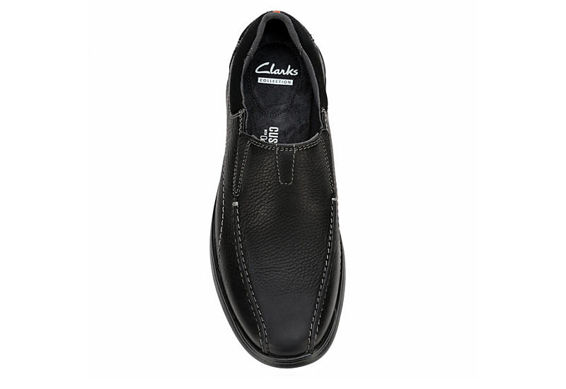 CLARKS Mens Cotrell Step Casual Loafer - BLACK