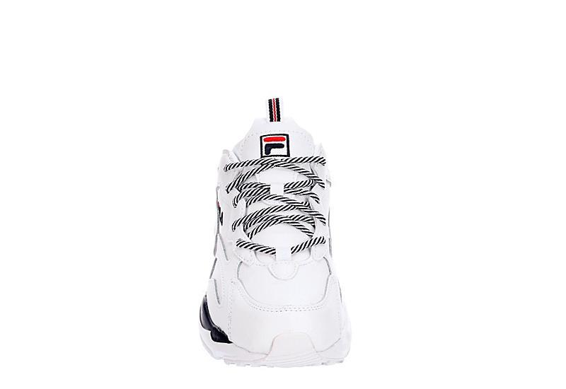 FILA Womens Ray Tracer Sneaker - WHITE