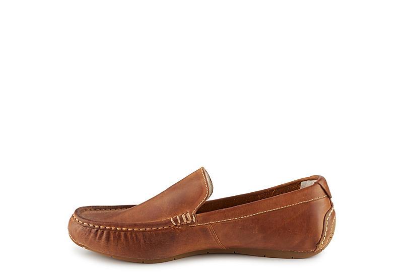 COLE HAAN Mens Somerset Venetian Loafer - DARK TAN