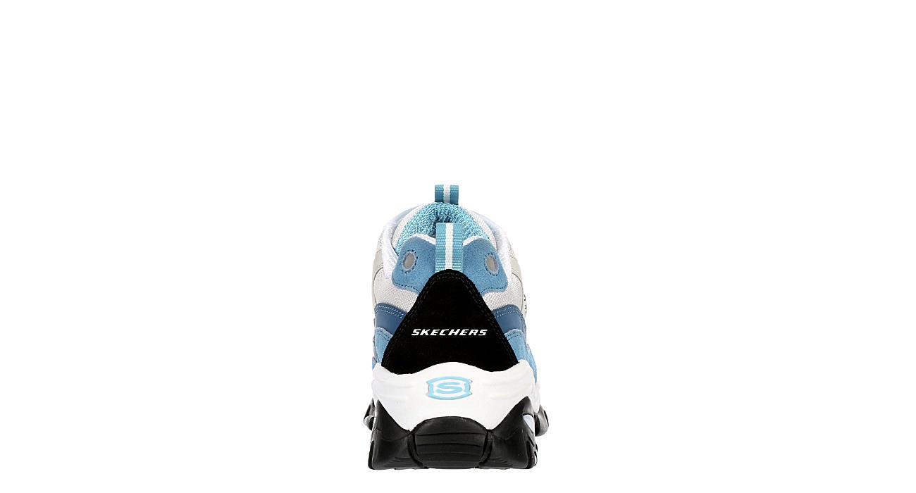 SKECHERS Womens Energy-wave Linxe Sneaker - PALE BLUE