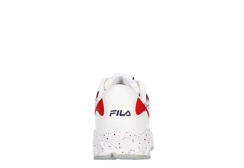 FILA Womens Clockwork Sneaker - WHITE