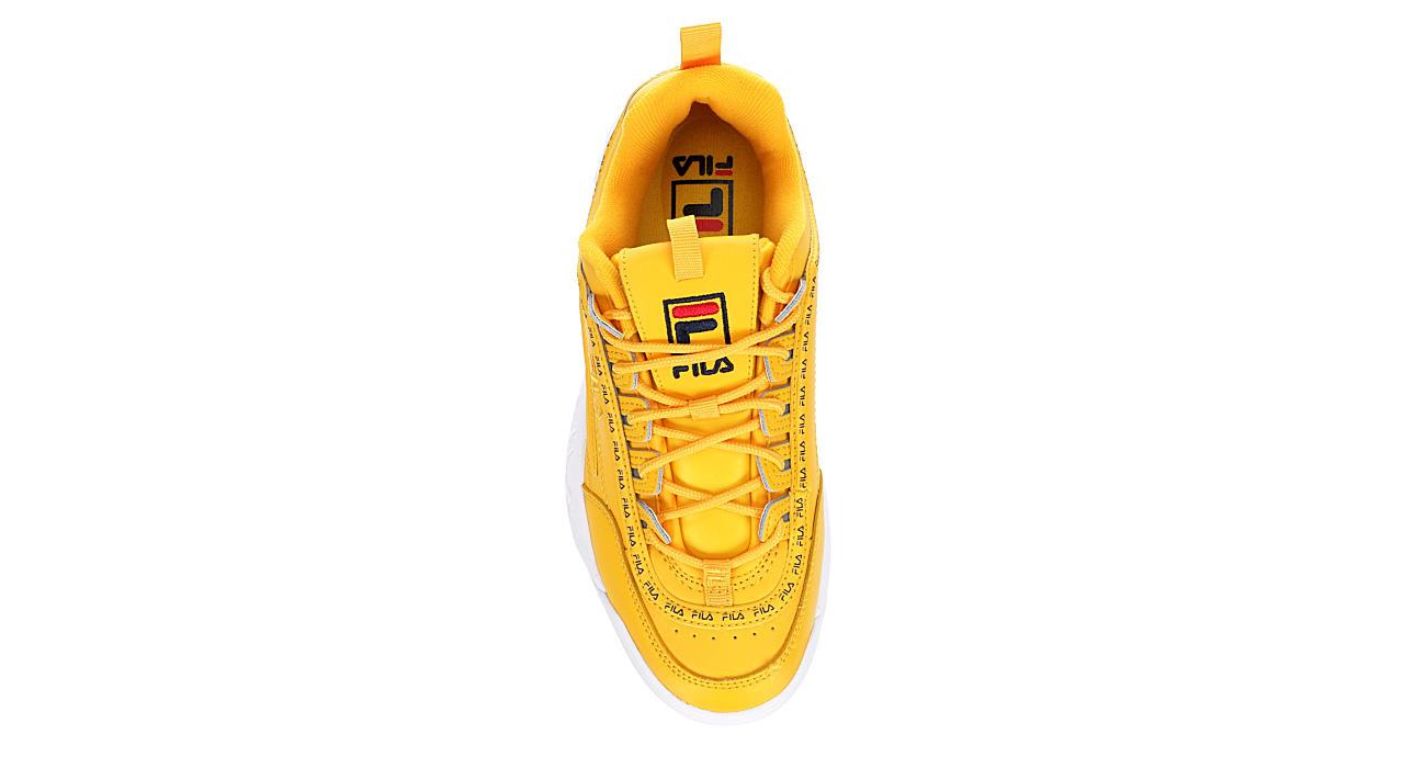 FILA Womens Disruptor Ii Premium Sneaker - YELLOW