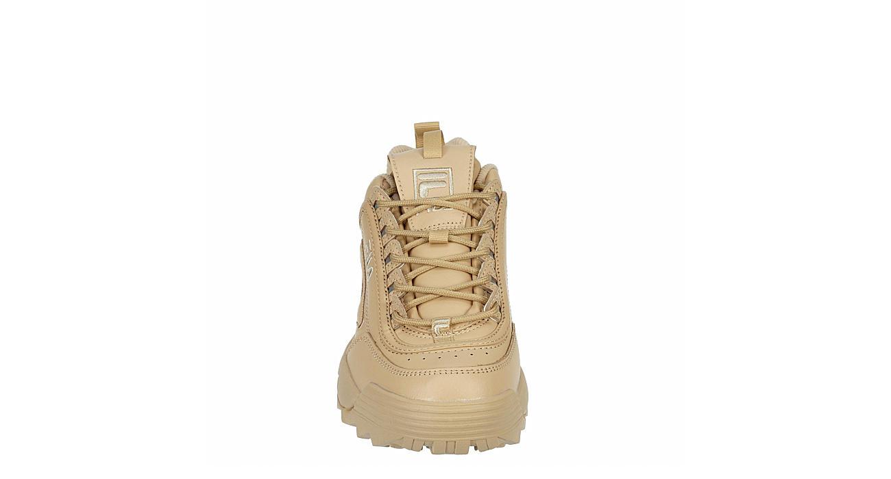 FILA Womens Disruptor Ii Premium Sneaker - BEIGE