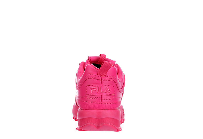 FILA Womens Disruptor Ii Premium Sneaker - BRIGHT PINK