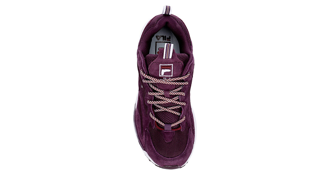 FILA Womens Ray Tracer Sneaker - WINE