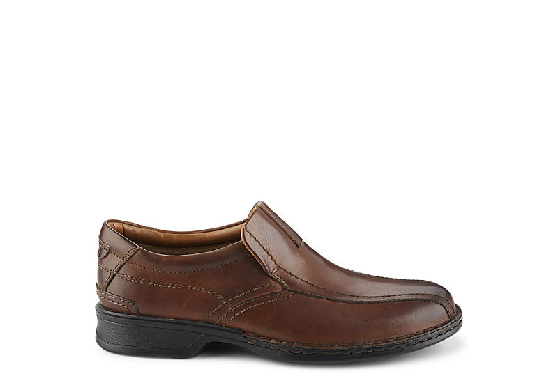 CLARKS Mens Escalade Step Casual Loafer - BROWN
