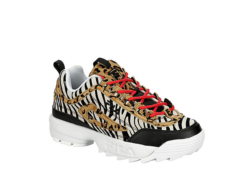 ANIMAL FILA Womens Disruptor Ii Premium Sneaker