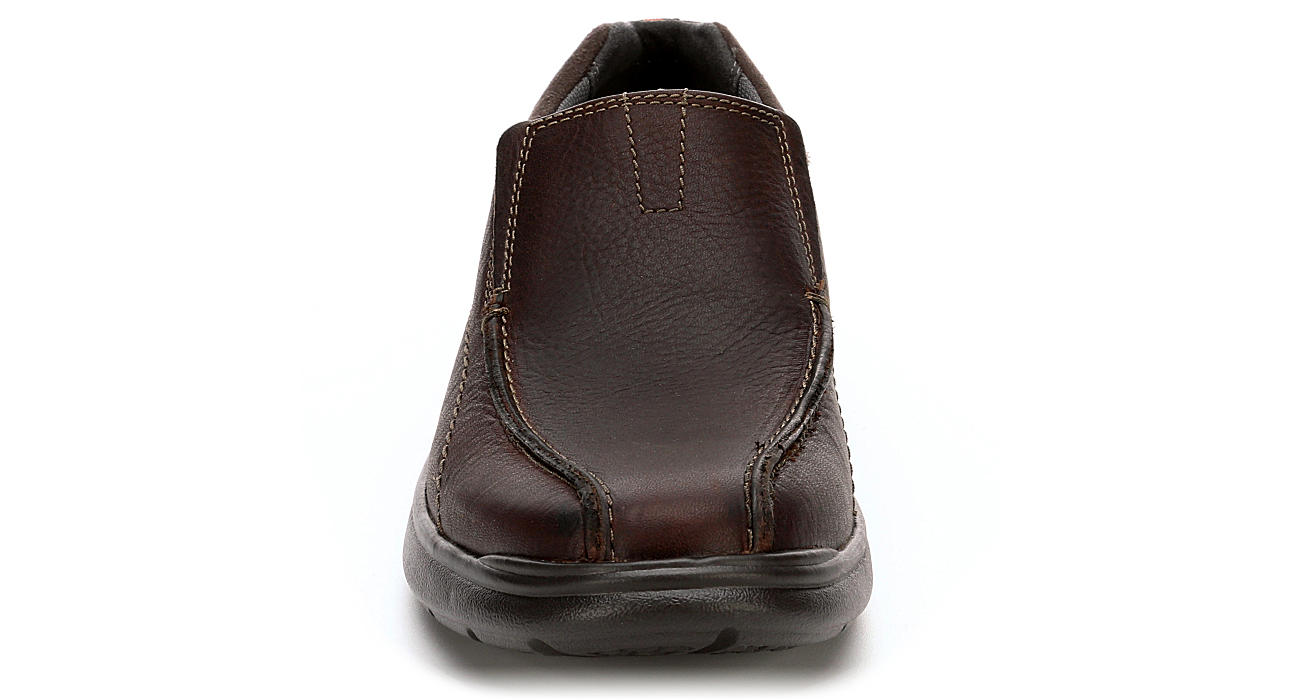 CLARKS Mens Cotrell Step Casual Loafer - BROWN