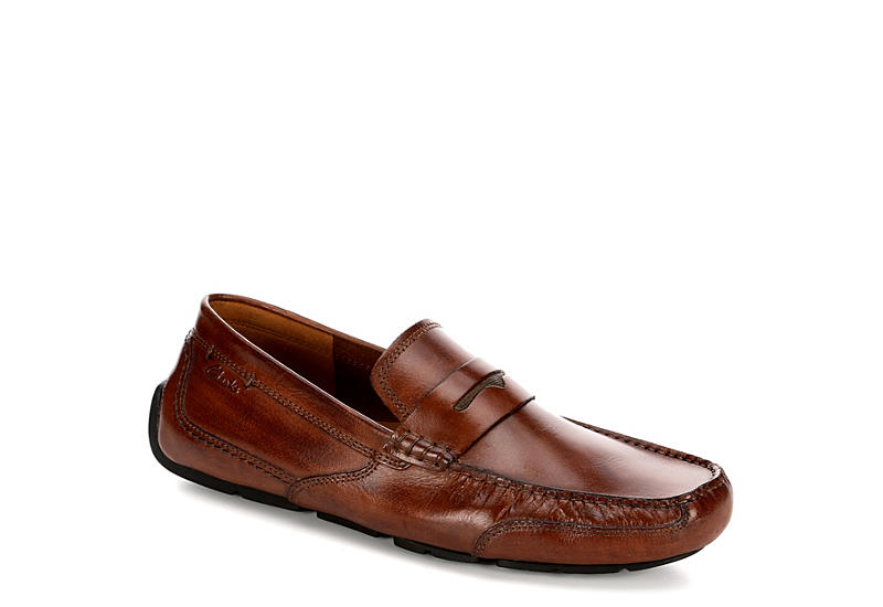 72937656e1b1 Clarks Mens Ashmont Way - Cognac