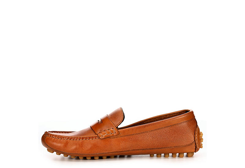 COLE HAAN Mens Coburn Penny Driving Loafer - TAN