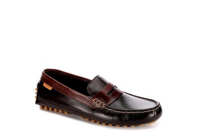 48ee3ff965c Cole Haan Mens Coburn Penny Driving Loafer - Dark Brown