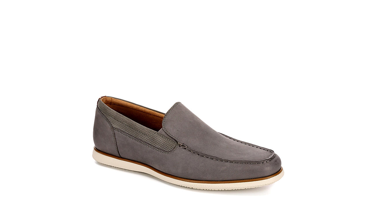 FLORSHEIM Mens Atlantic Moc Toe Dress Casual Loafer - GREY