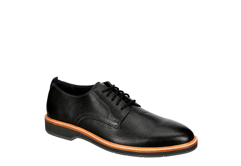 COLE HAAN Mens Morris Plain Toe Oxford - BLACK