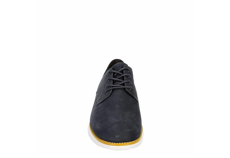 COLE HAAN Mens Original Grand Plain Toe Oxford - NAVY