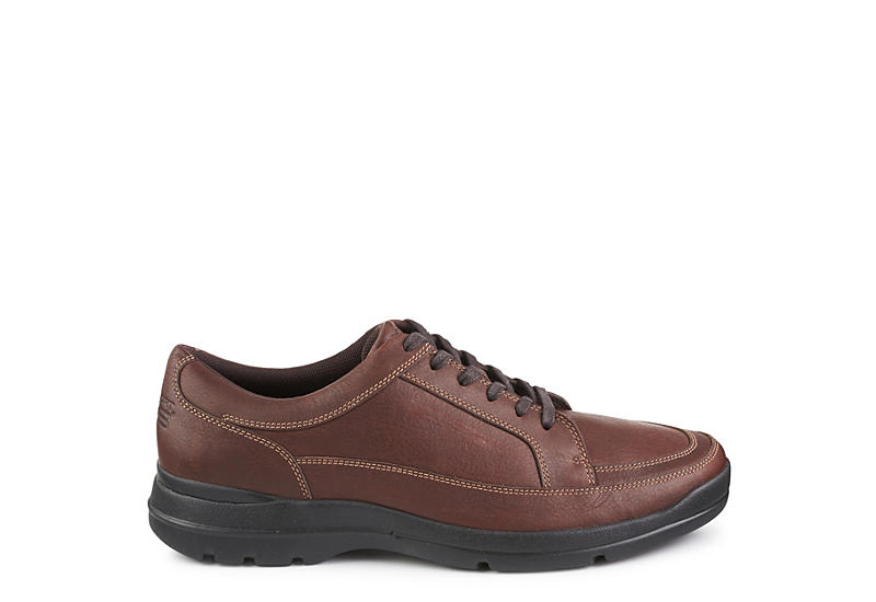 ROCKPORT Mens Junction Point Oxford Shoe - CHOCOLATE
