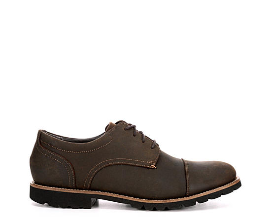 Mens Modern Break Cap Toe Oxford
