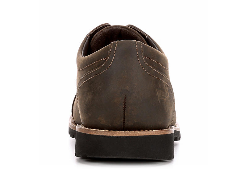 ROCKPORT Mens Modern Break Cap Toe Oxford - BROWN