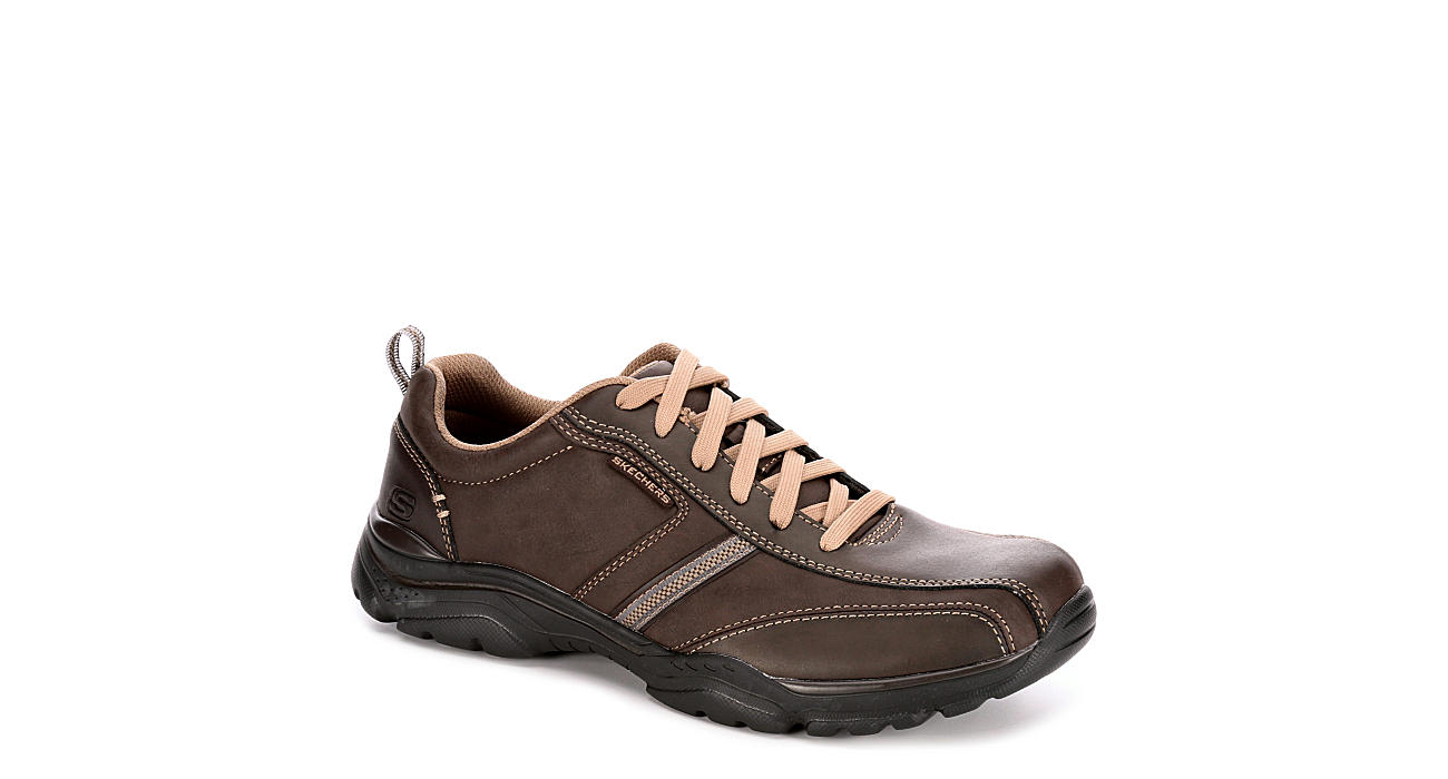 SKECHERS Mens Rovato Larion - BROWN