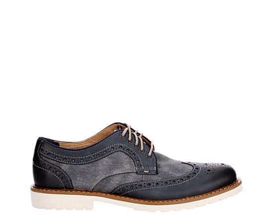 Mens Mealey Wingtip Dress Casual Oxford