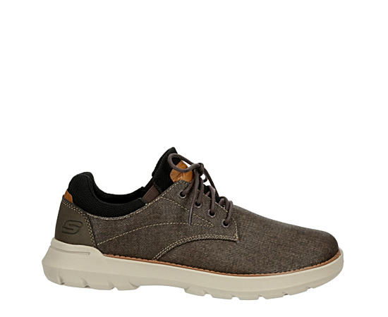 Mens Doveno-reson Relaxed Fit Memory Foam Casual Oxford