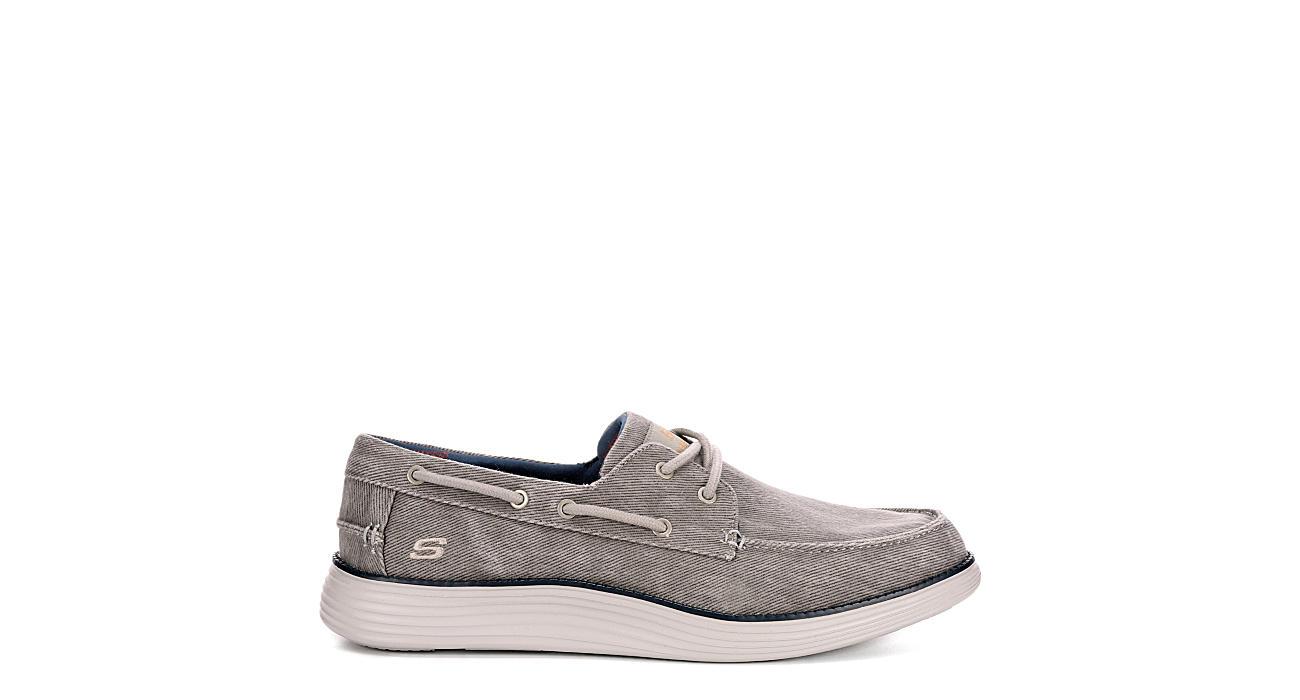 SKECHERS Mens Status 2.0-lorano Canvas Shoe - GREY