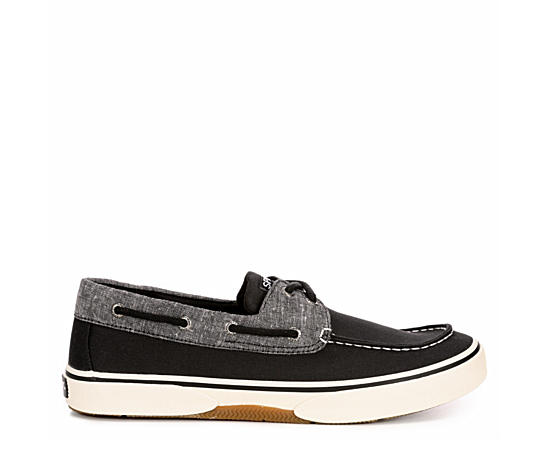 Mens Halyard 2-eye Canvas Boat Shoe