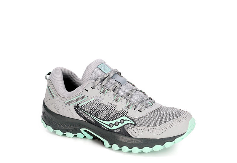 9e7c0d26 GREY SAUCONY Womens Excursion 13 Running Shoe