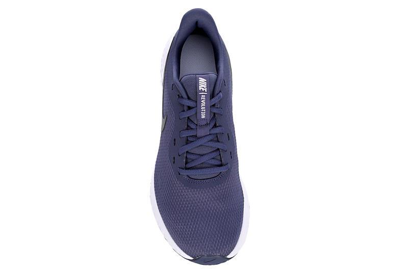 NIKE Womens Revolution 5 Running Shoe - PURPLE