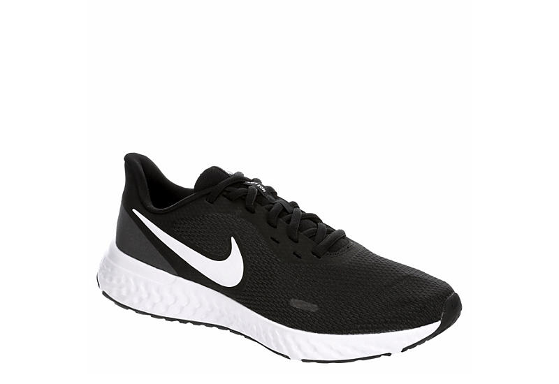 BLACK NIKE Womens Revolution 5 Running Shoe