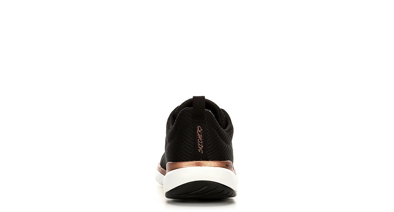 60d3119197f0 Skechers Womens Flex Appeal 3.0 - Insiders Sneaker - Black