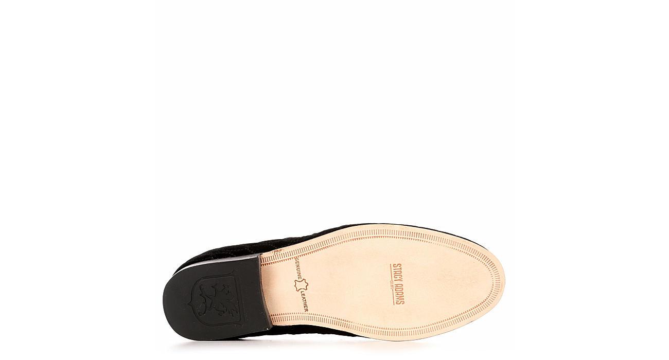 STACY ADAMS Mens Valet Slip On Shoe - BLACK