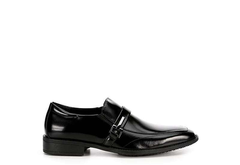 STACY ADAMS Mens Abram - BLACK
