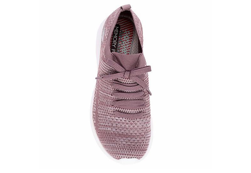 SKECHERS Womens Ultra Flex Mesh Sneaker - LILAC