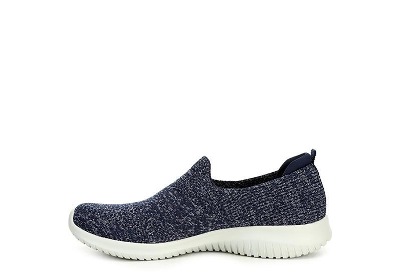 SKECHERS Womens Ultra Flex Harmonious Sneaker - NAVY