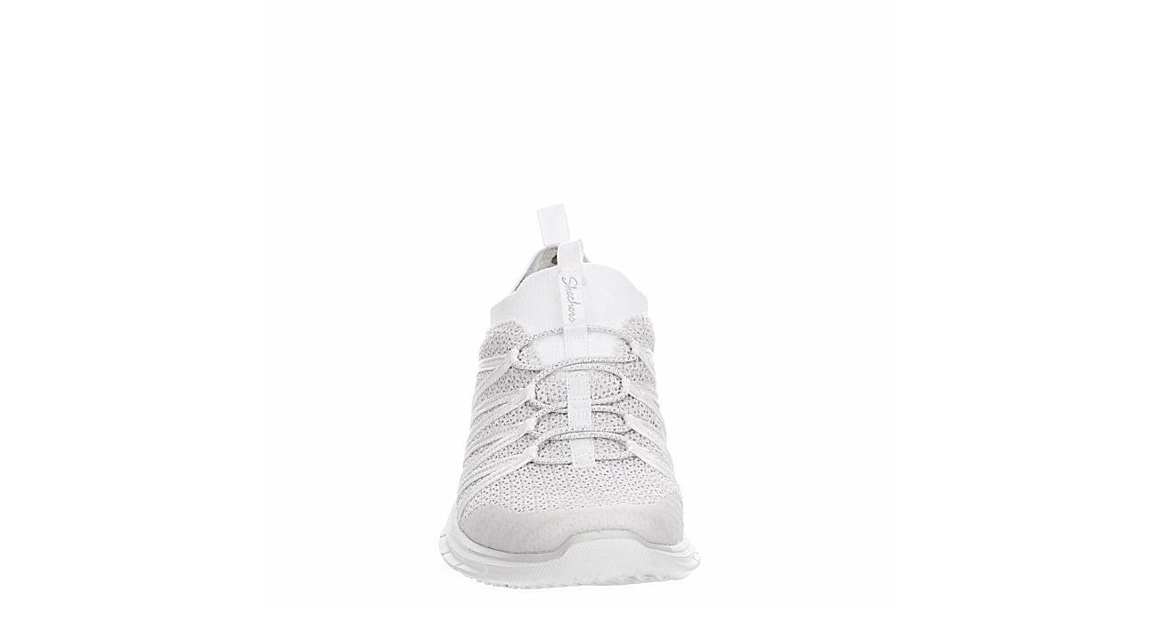 SKECHERS Womens Glider Sneaker - WHITE