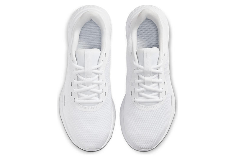 NIKE Womens Revolution 5 Running Shoe - WHITE