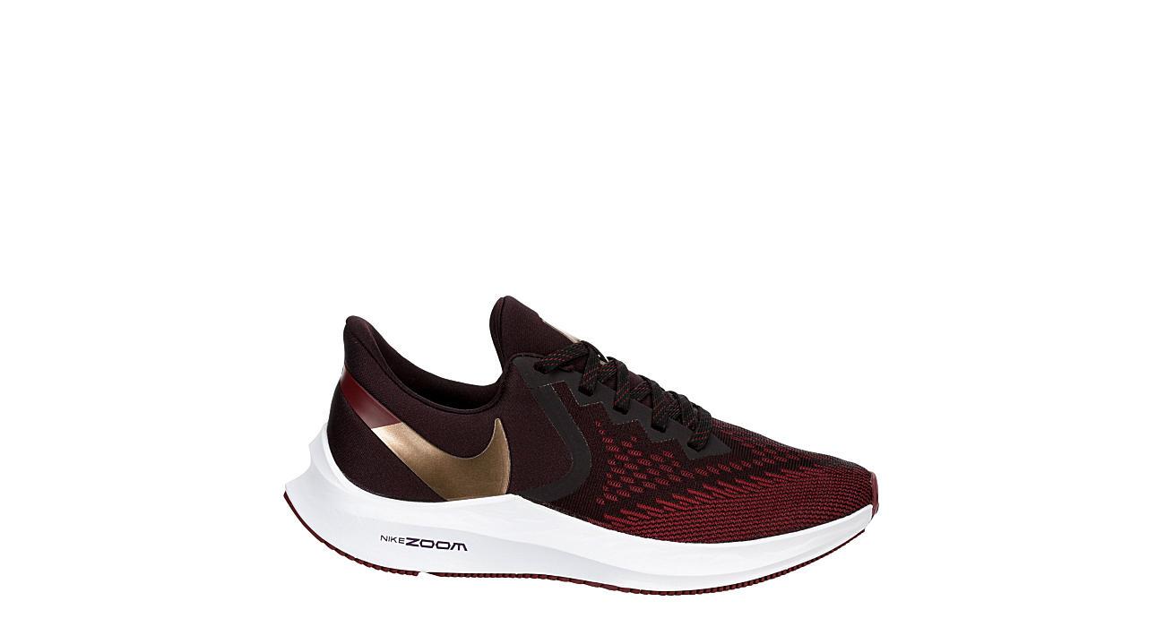 NIKE Womens Winflo 6 Running Shoe - BURGUNDY