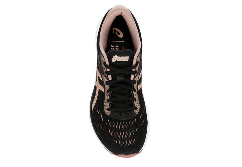 ASICS Womens Excite 6 Running Shoe - BLACK