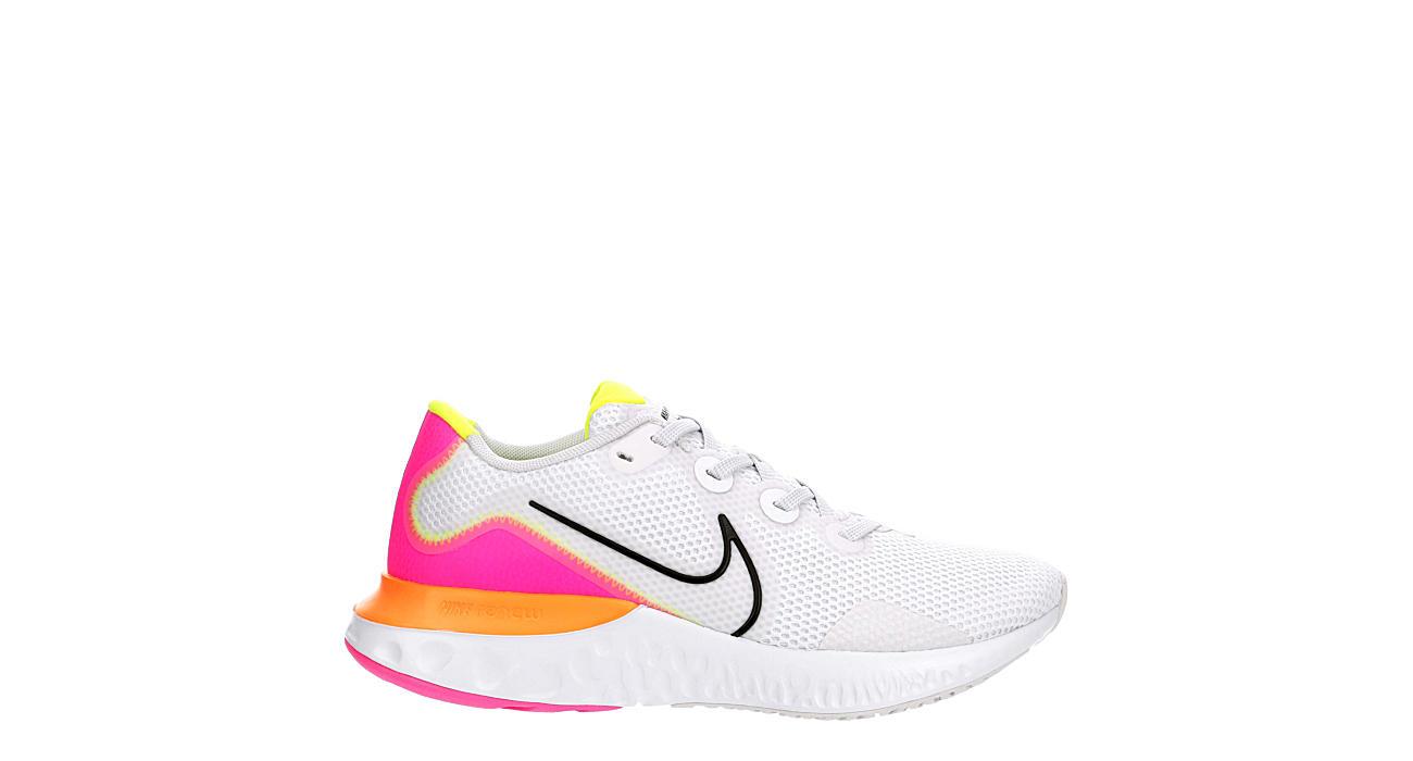NIKE Womens Renew Run Running Shoe - WHITE