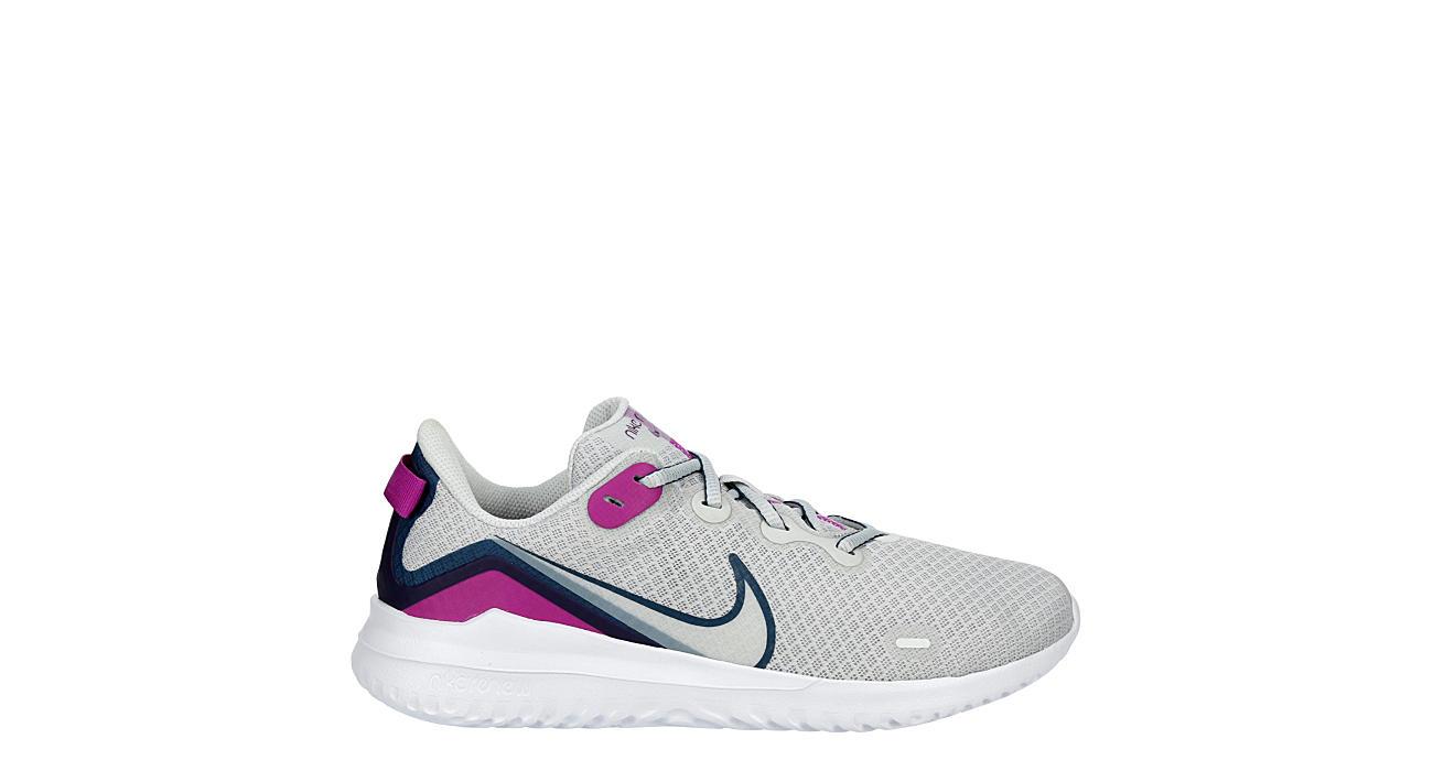 NIKE Womens Renew Ride Running Shoe - WHITE