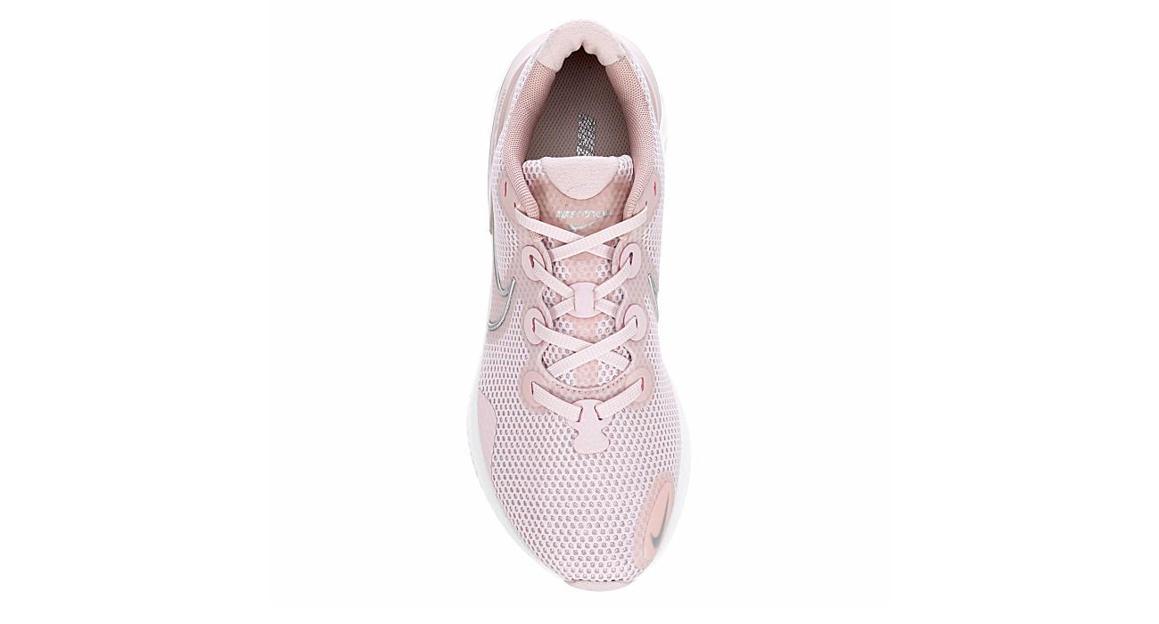 NIKE Womens Renew Run Running Shoe - BLUSH