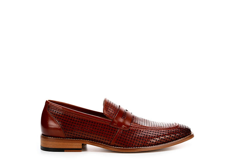 STACY ADAMS Mens Belfair - COGNAC
