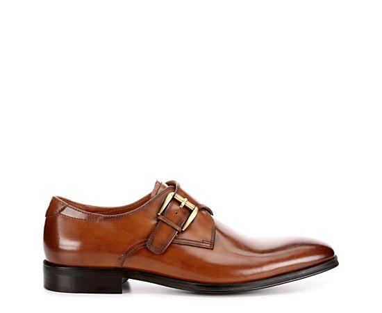 Mens Belfast Plain Toe Monk Strap